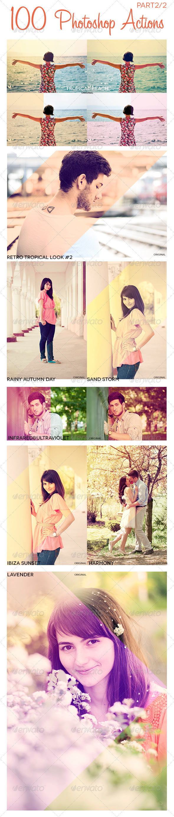 GraphicRiver 100 Photoshop Actions Photo Effects Part 2 4960821
