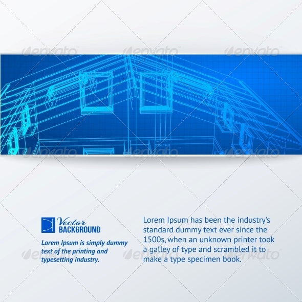 GraphicRiver Abstract Building Banner 4961004