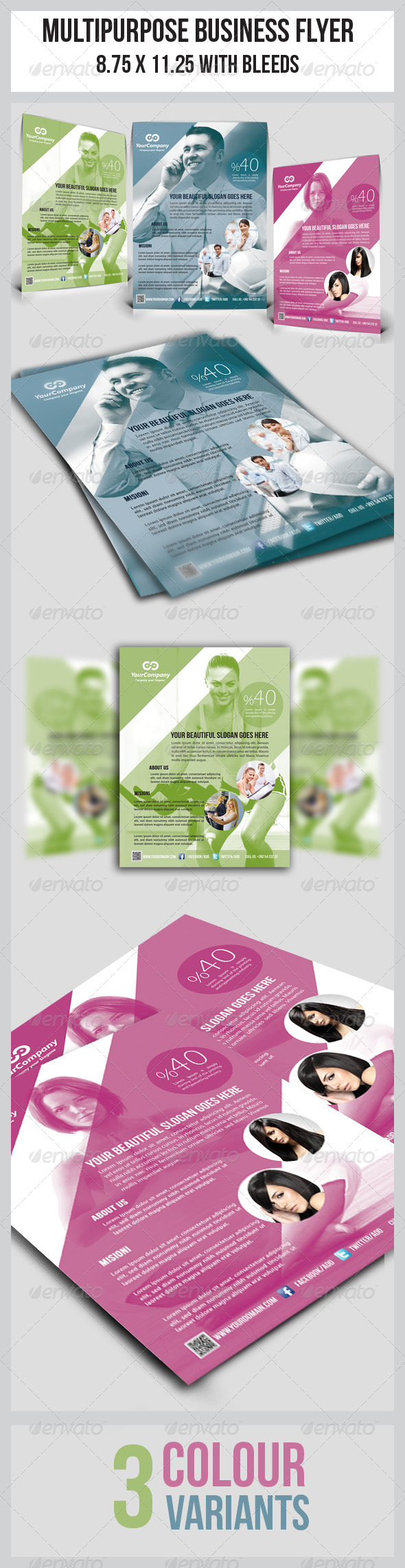 GraphicRiver Multipurpose Business Flyer 4903429