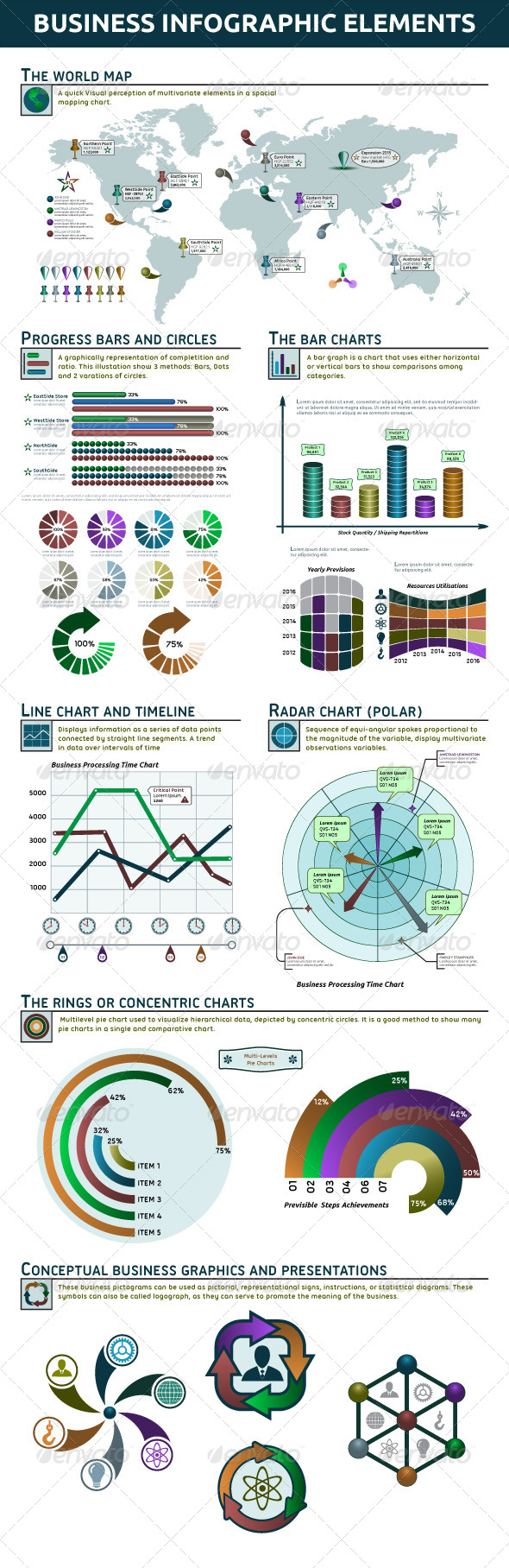 GraphicRiver Business Infographic Elements 4919507