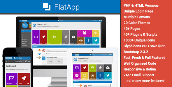 ThemeForest FlatApp Premium Admin Dashboard Template 4961564