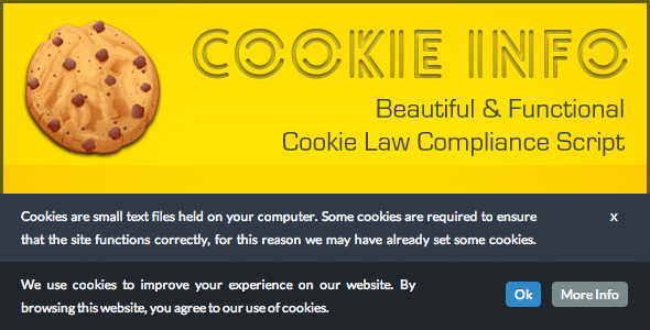 CodeCanyon CookieInfo.js EU Cookie Law Compliance Script 4961927