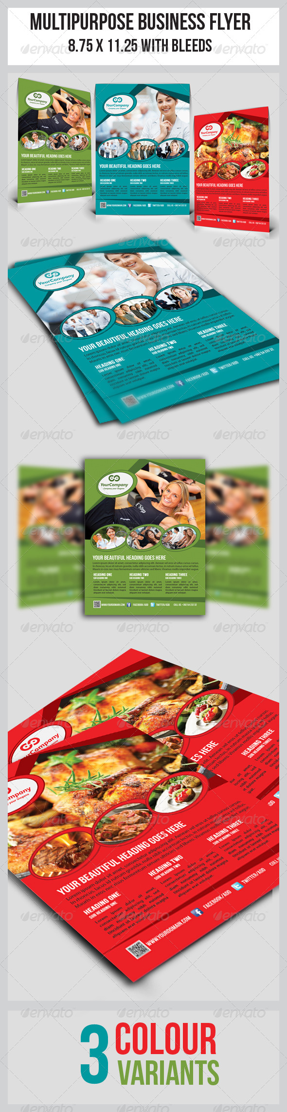 GraphicRiver Multipurpose Business Flyer 4963021