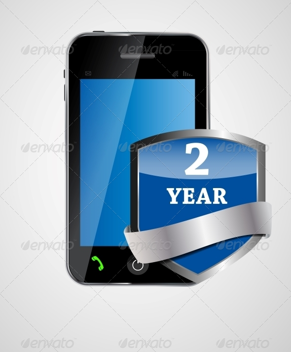 GraphicRiver Security Phone Concept Vector Illustration 4963031