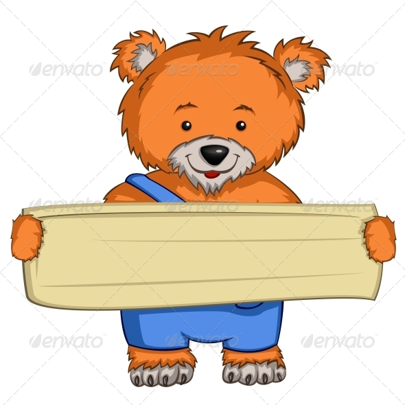 GraphicRiver Cartoon Character Bear 4963068