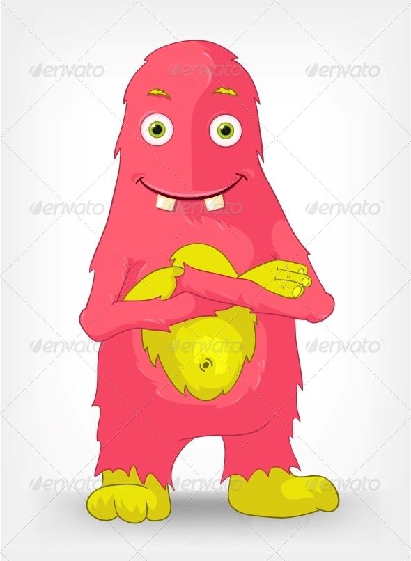 GraphicRiver Funny Monster 4963085