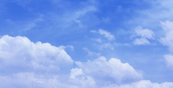 Clouds With Blue Sky 4k And 1080p