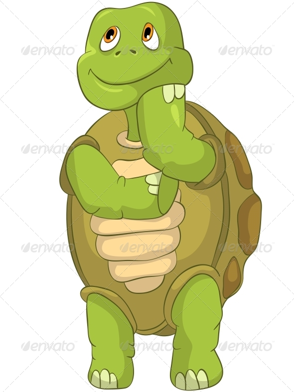 GraphicRiver Turtle Thinking 4964301
