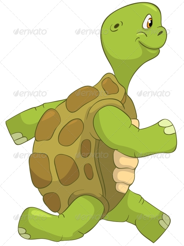 GraphicRiver Turtle Running 4964302