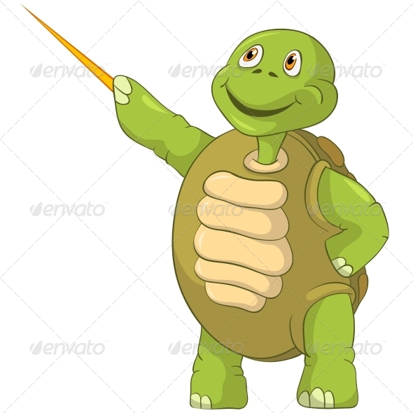 GraphicRiver Turtle Showing 4964303