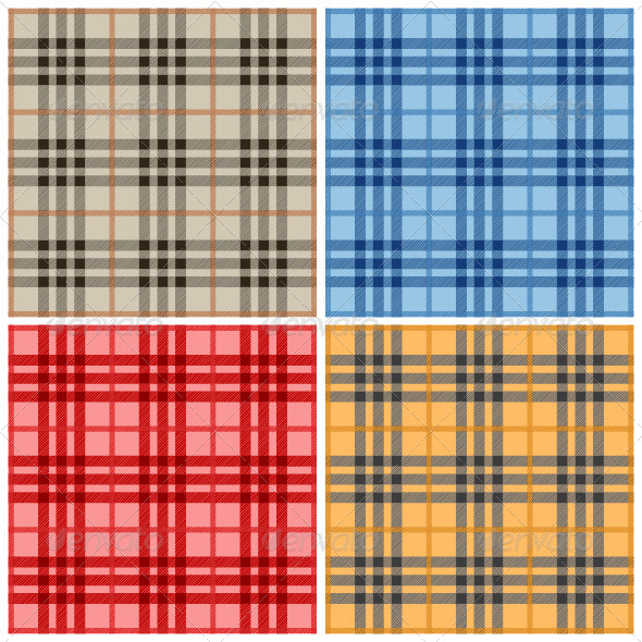 GraphicRiver Plaid Pattern 4966231