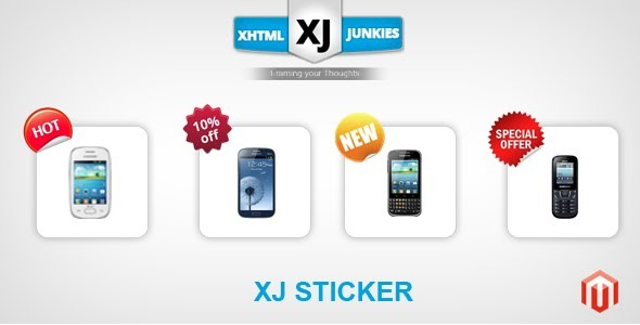 CodeCanyon XJ Product Sticker Extension 4938403