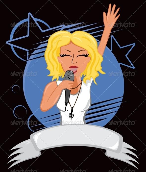GraphicRiver Karaoke Poster 4966677
