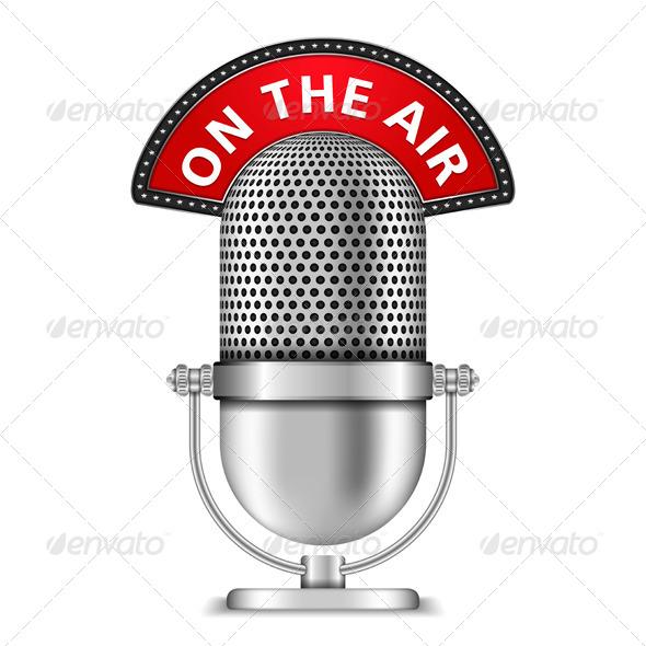 GraphicRiver Microphone 4966688