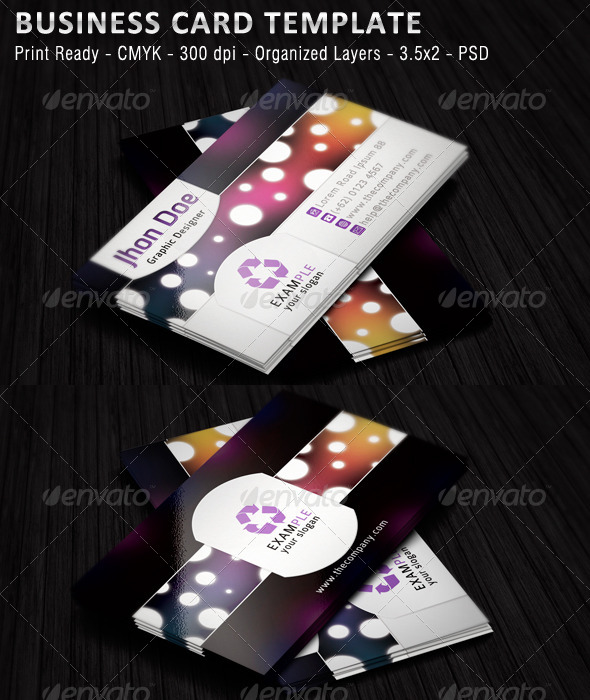 GraphicRiver Simple Business Card 4850115