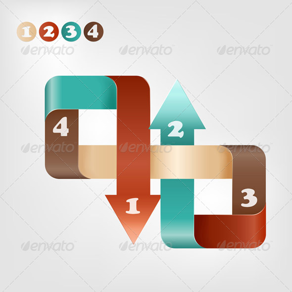 GraphicRiver Vector Infographic Template 4967190