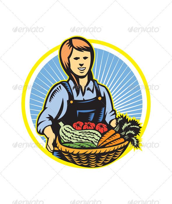 GraphicRiver Organic Farmer 4967640
