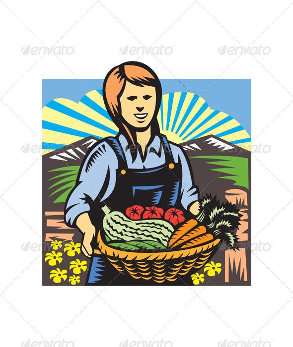 GraphicRiver Organic Farmer 4967647