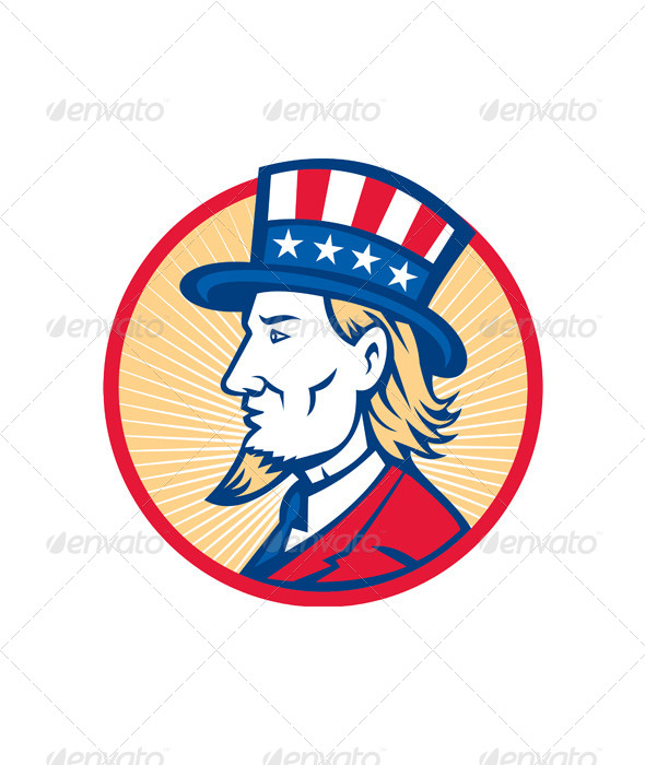 GraphicRiver Uncle Sam American Side 4967701