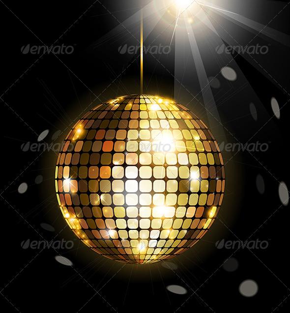 GraphicRiver Shining Disco Ball 4967705