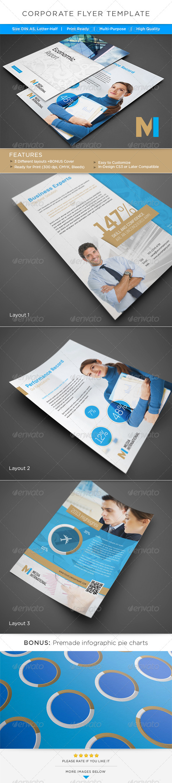 GraphicRiver Corporate Flyer AD Template 4968062