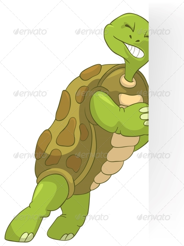 GraphicRiver Turtle Pushing 4968612