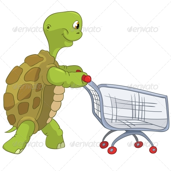 GraphicRiver Turtle Shopping 4968622