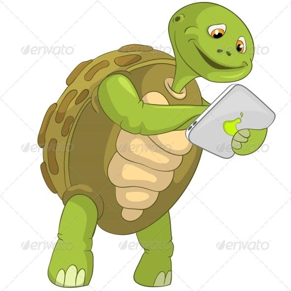 GraphicRiver Turtle Touch Screen 4968634
