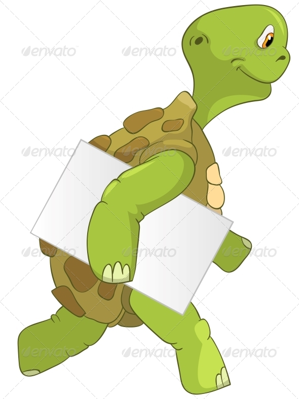 GraphicRiver Turtle Courier 4968636