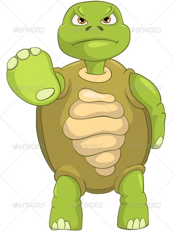 GraphicRiver Turtle Stop 4968644