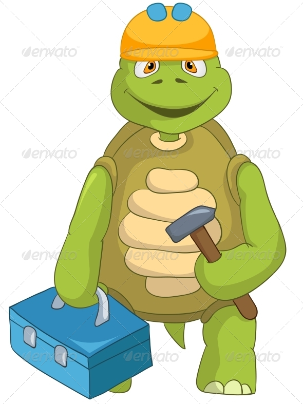 GraphicRiver Turtle Contractor 4968757