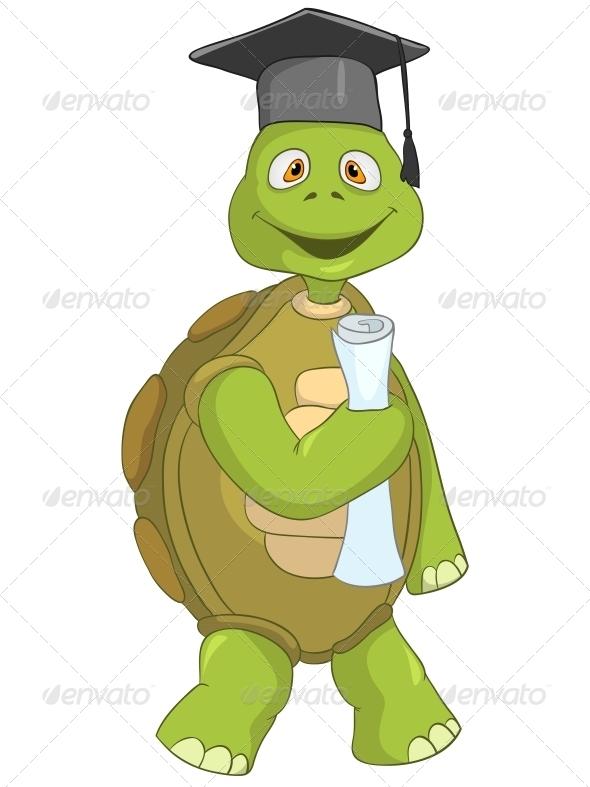 GraphicRiver Turtle Student 4968760