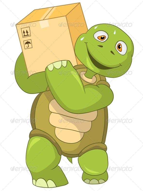 GraphicRiver Turtle Worker 4968817