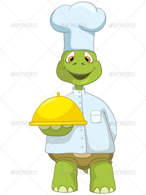 GraphicRiver Turtle Chef 4968848