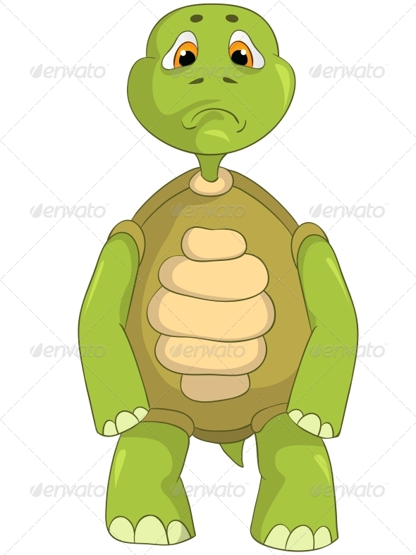 GraphicRiver Sad Turtle 4968858