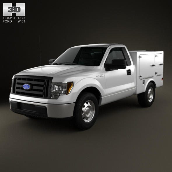 Ford F-150 6 Series WB 2011 - 3DOcean Item for Sale