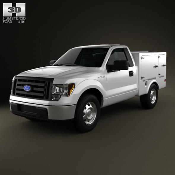 3DOcean Ford F-150 6 Series WB 2011 4968895