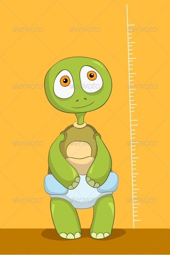 GraphicRiver Turtle Baby Measure 4968897