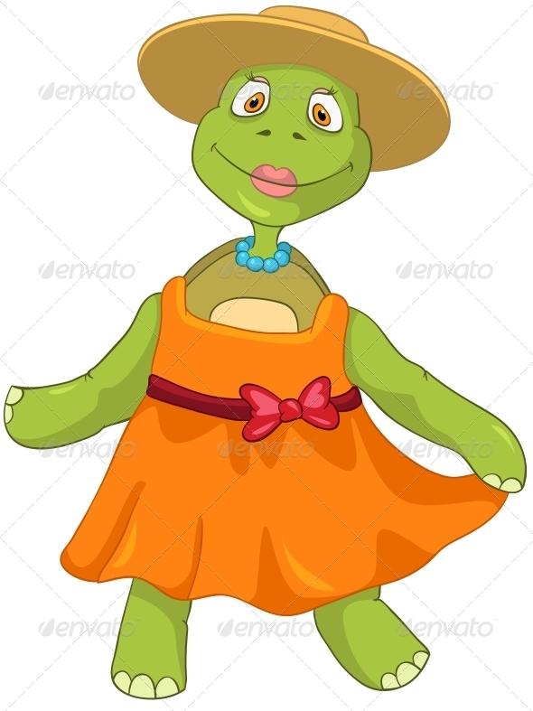 Turtle Wife Dancing