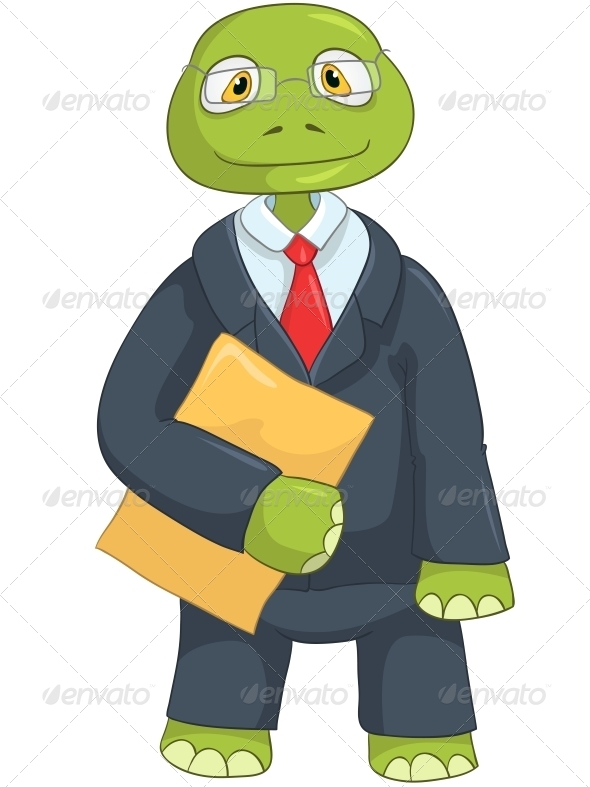 GraphicRiver Turtle Businessman 4968926
