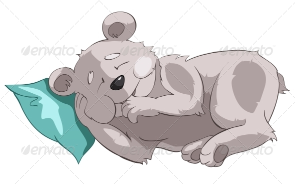 GraphicRiver Cartoon Character Bear 4969172