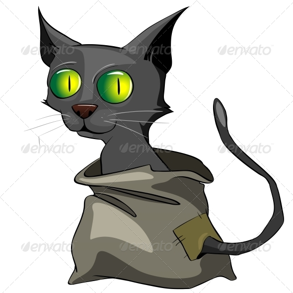 GraphicRiver Cartoon Character Cat 4969182