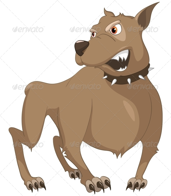 GraphicRiver Cartoon Character Dog 4969245