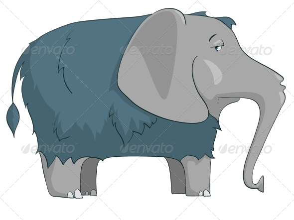 GraphicRiver Cartoon Character Elephant 4969249
