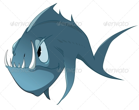 GraphicRiver Cartoon Character Fish 4969257