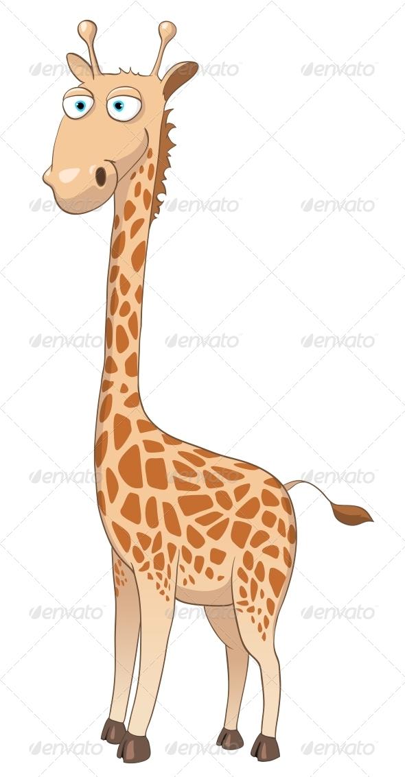 GraphicRiver Cartoon Character Giraffe 4969262
