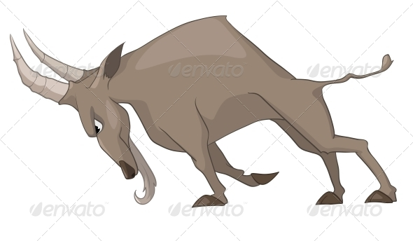 GraphicRiver Cartoon Character Goat 4969265
