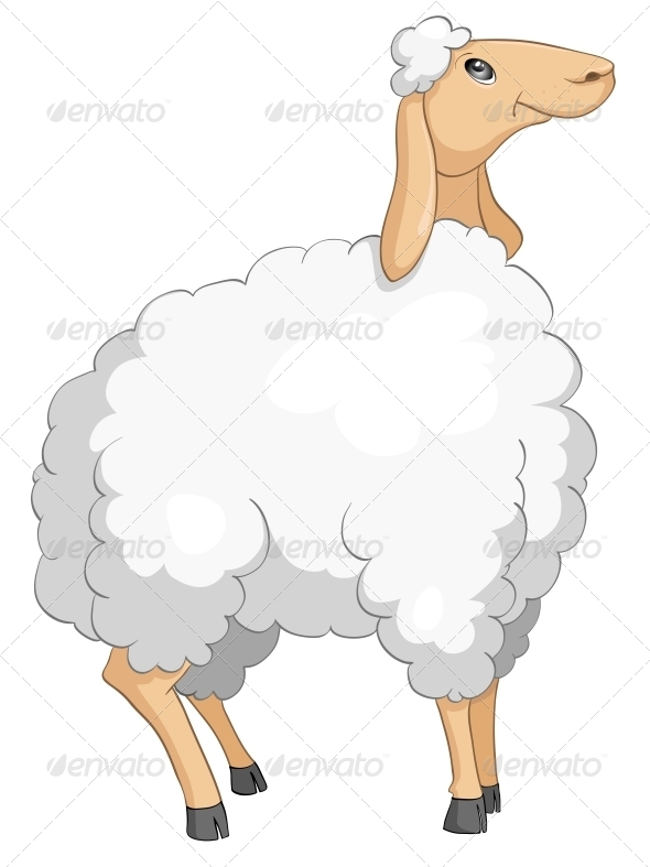 GraphicRiver Cartoon Character Sheep 4969354
