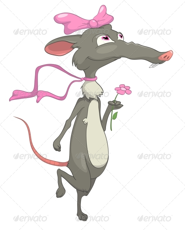 GraphicRiver Cartoon Character Rat 4969465