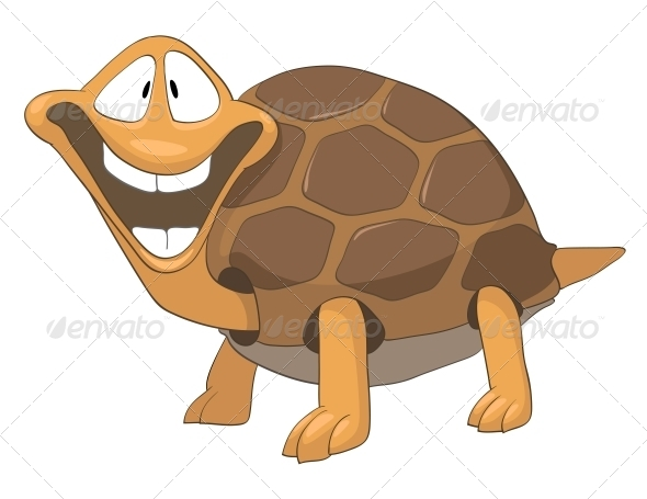 GraphicRiver Cartoon Character Turtle 4969496